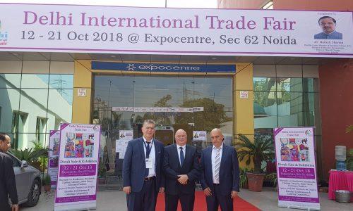 Българска делегация на Международния панаир в Делхи