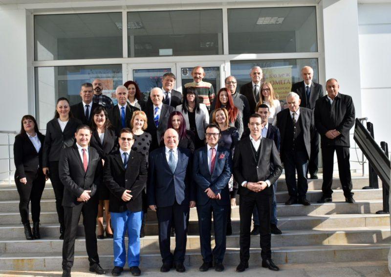 Участници в проект Международно висше училище по информатика и електронно лидерство