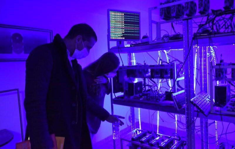 Копачки за криптовалута в Пловдив Тех Парк